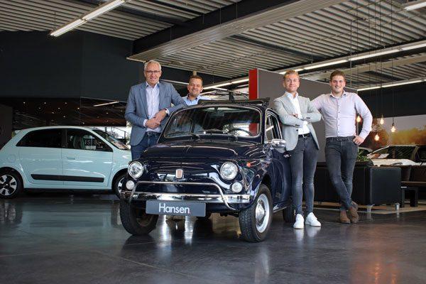 Personeel verkoop hulp Autobedrijf Hansen