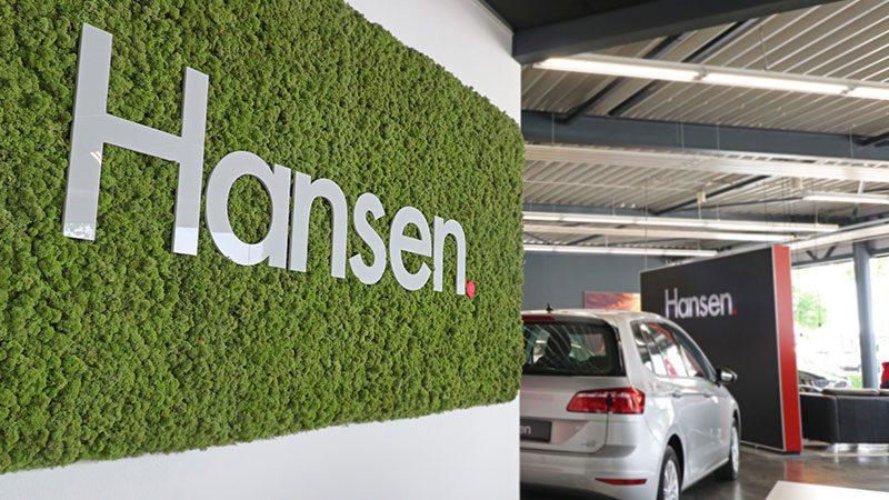 Autobedrijf Hansen duurzaam