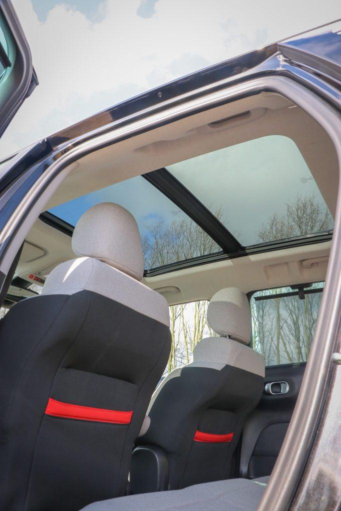 Citroën C3 Aircross comfortabel stoelen ruimte