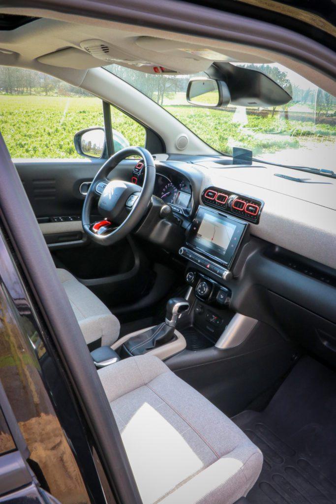 Citroën C3 Aircross comfortabel bediening