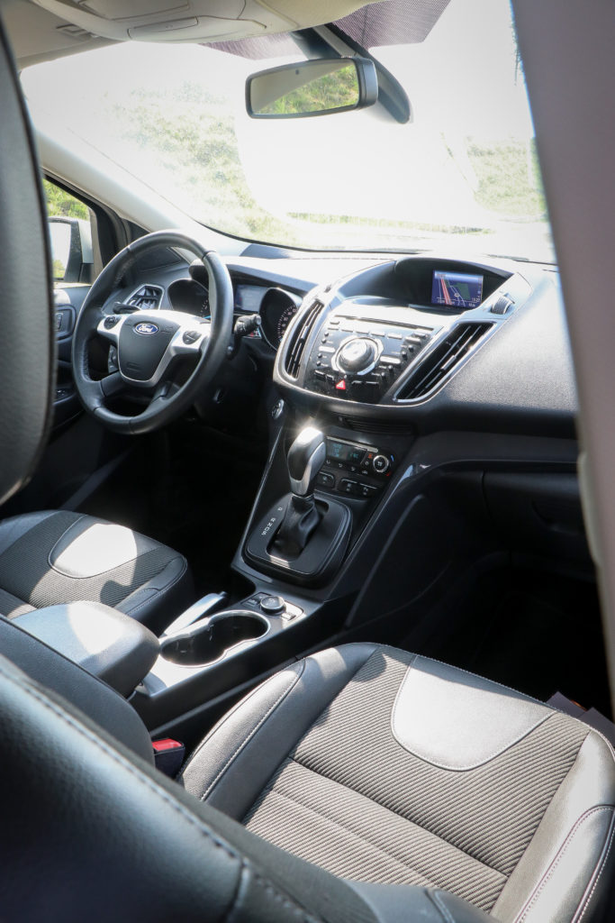 Ford Kuga interieur
