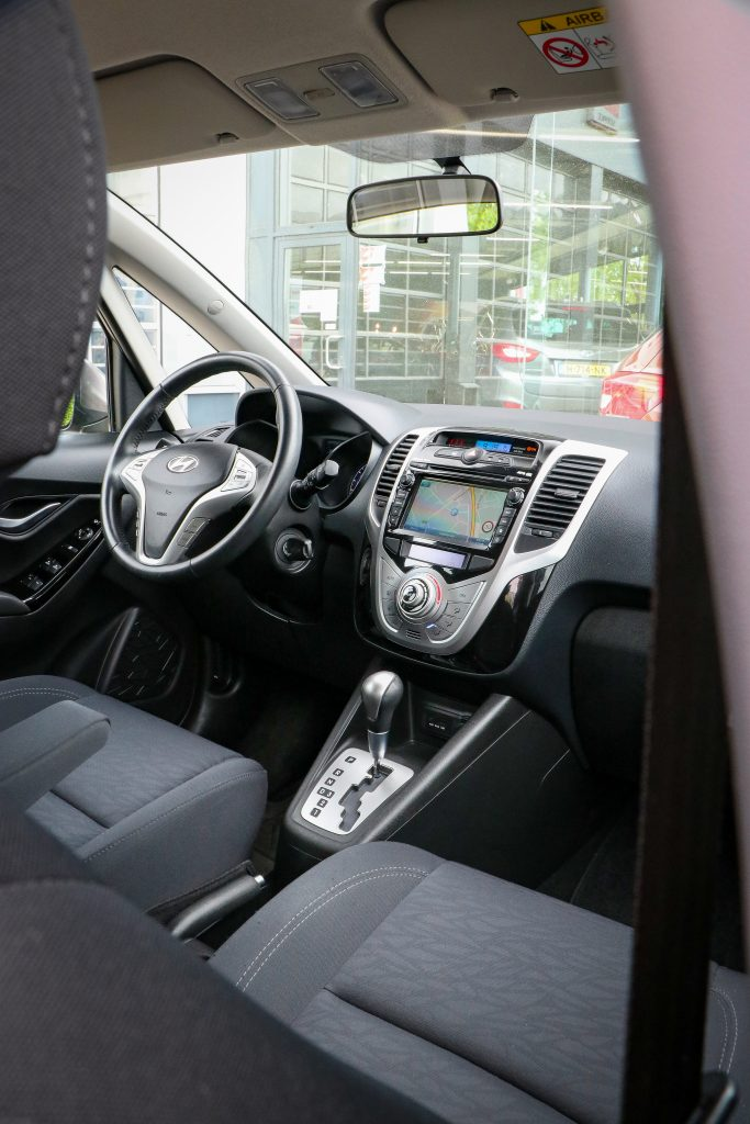 Hyundai ix20 interieur comfortabel automaat