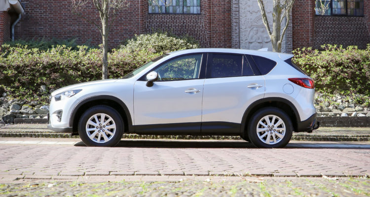 Mazda CX-5 wit Autobedrijf Hansen Venray