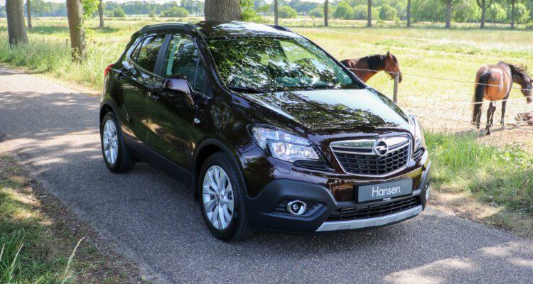 Opel Mokka zwart design