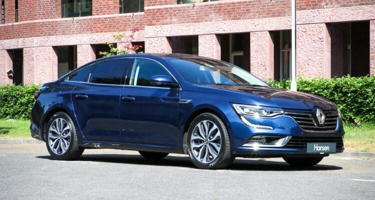 Renault Talisman blauw uiterlijk