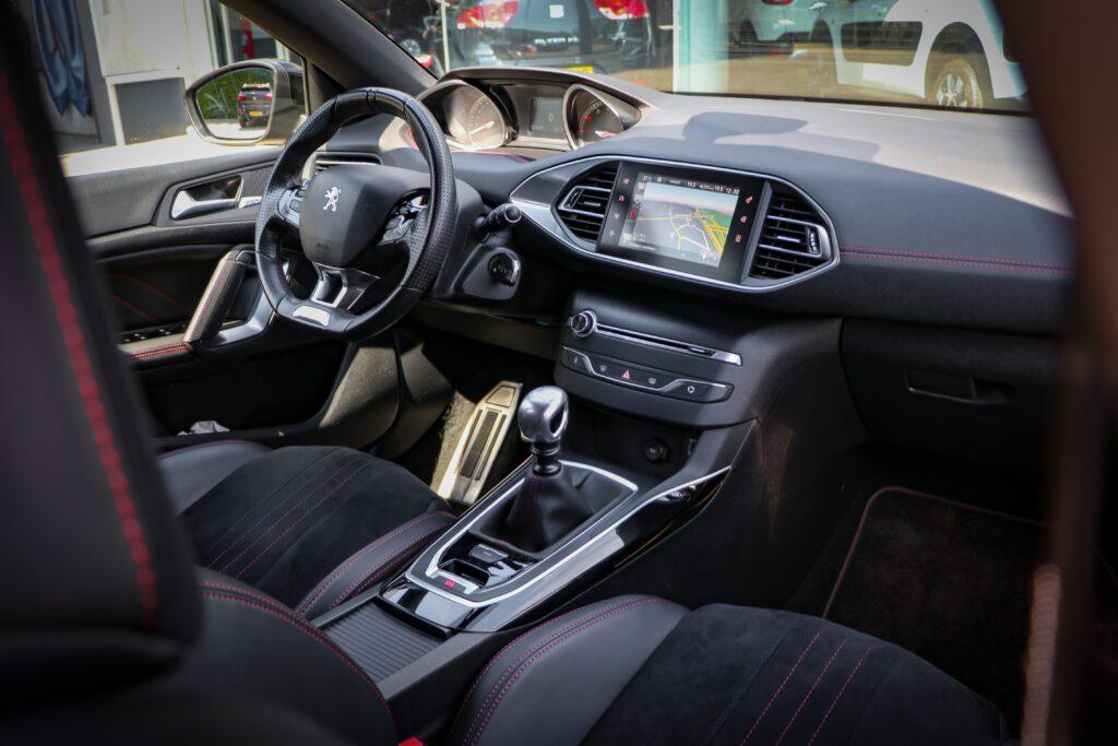 Peugeot 308SW binnenkant