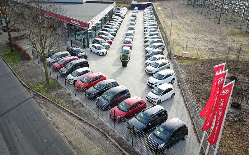 Autobedrijf Hansen Occasionterrein uitbreiding