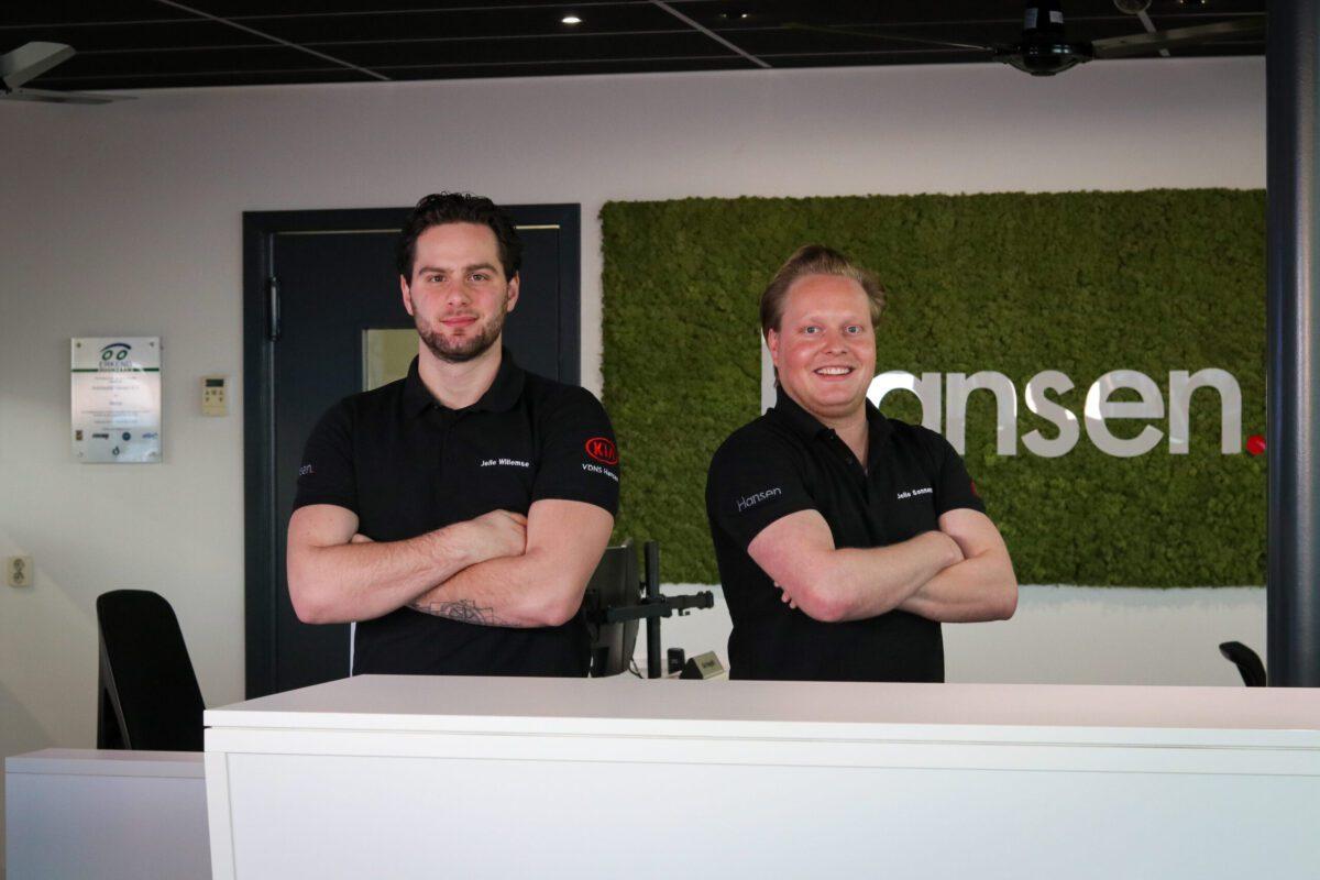 Jelle-Willemse-Jelle-Sonnemans-Receptionist-Autobedrijf-Hansen-Venray